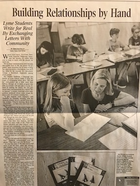 Lyme Writers in the Valley News