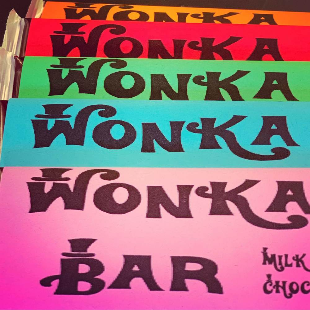 Willy Wonka Candy Stand