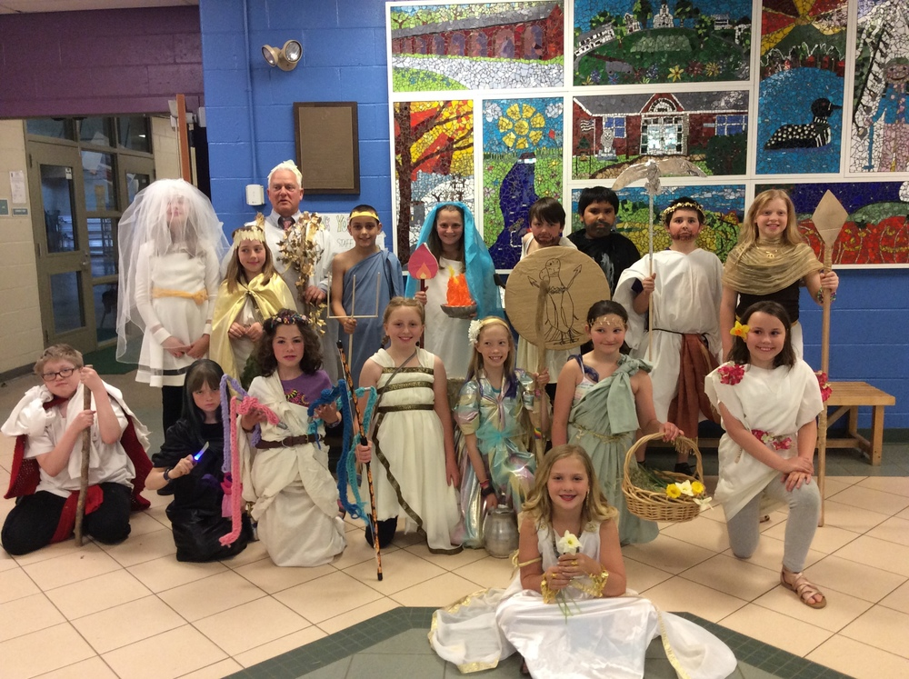 4th Grade Greek Day