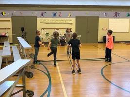 Group Rhythmic and Fitness Activity