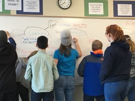 7th Grade LA Classes Contemplate the Refugee Experience